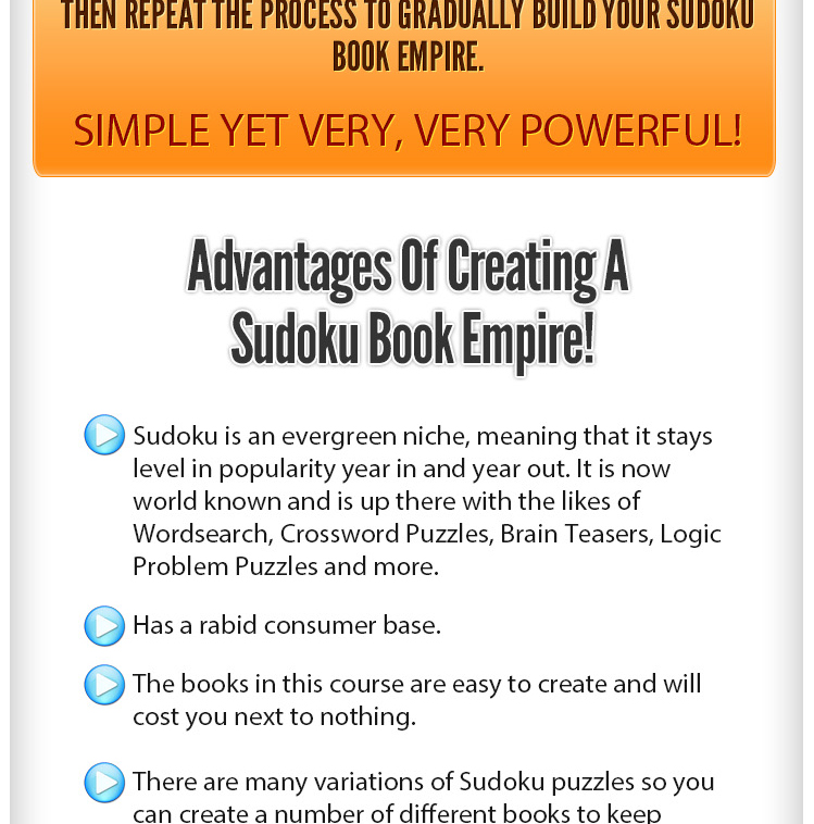 Sudoku Book Creation Empire - 10