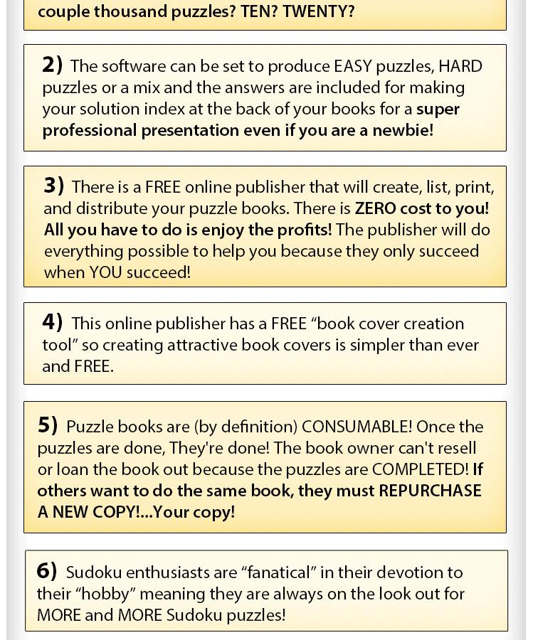 Sudoku Book Creation Empire - 5